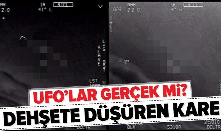 UFO'LAR GERÇEK Mİ? DEHŞETE DÜŞÜREN FOTOĞRAF!