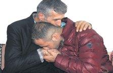 Afrin gazisi, şehit Sarıaslan'ın ailesini ziyaret etti
