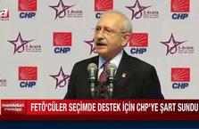 Memleket Meselesi - FETÖ CHP'ye şart sundu