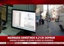 Son dakika: İstanbulda hissedilen son depremin büyüklüğü ve merkez üssü belli oldu