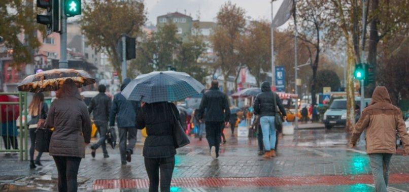 METEOROLOJİ'DEN SAĞANAK YAĞIŞ UYARISI GELDİ!