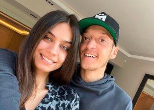 Futbolcu Mesut Özil ve Amine Gülşe'nin bebeğinin cinsiyeti belli oldu