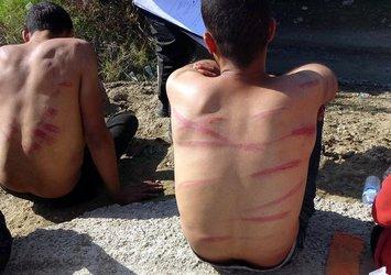 Yunanistan sınırında vahşet! Sopa ve coplarla dövdüler, paralarını aldılar, yarı çıplak halde Türkiye'ye itildiler