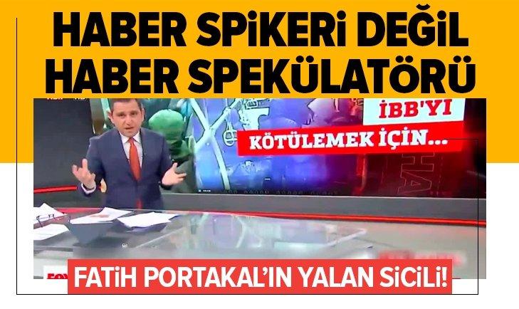 Fatih Portakal'ın yalan sicili!