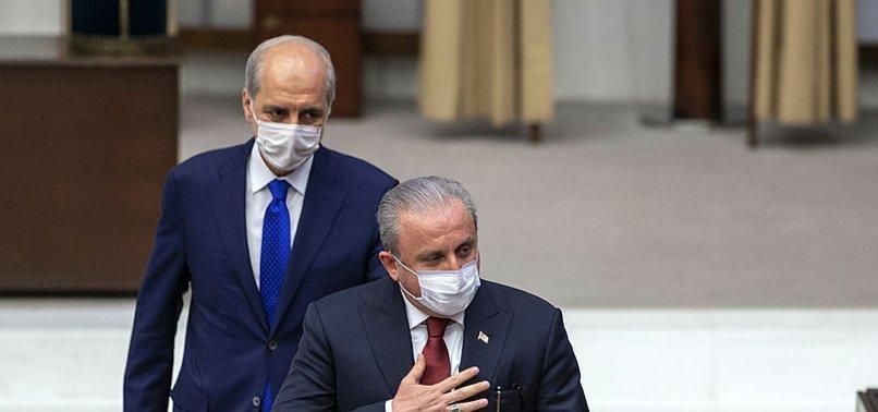 Son dakika haberleri: TBMM'de kritik gün! Yeni Meclis Başkanı Mustafa Şentop oldu