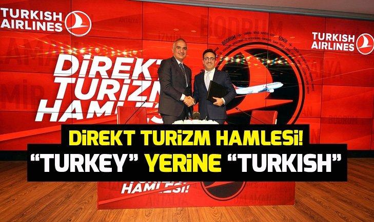 Direkt Turizm Hamlesi! Turkey yerine Turkish