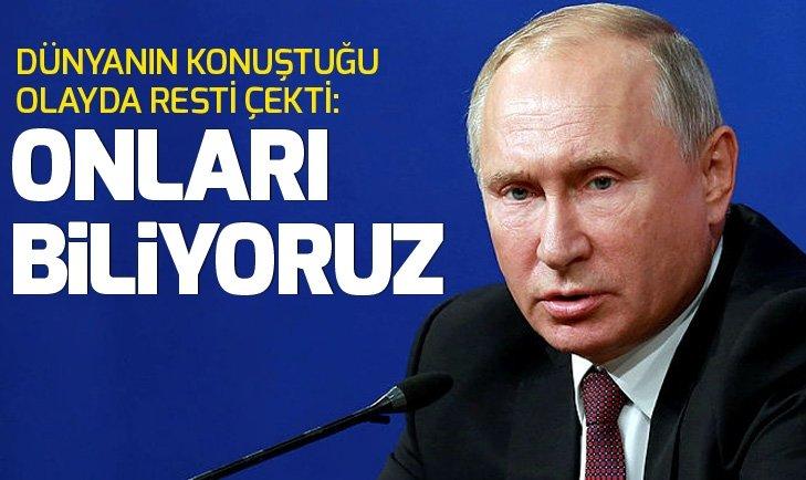 PUTİN'DEN BATI'YA SKRİPAL RESTİ