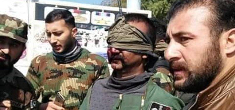Pakistan Hindistan Savaşında Son Dakika Hintli Pilotun Görüntüleri