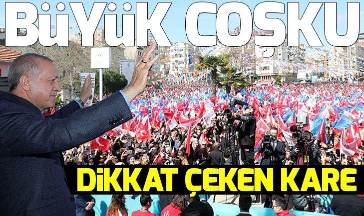 BAŞKAN ERDOĞAN'A TEKİRDAĞ'DA SEVGİ SELİ!