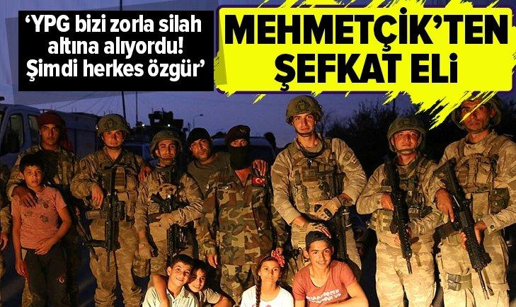 MEHMETÇİK'TEN ŞEFKAT ELİ