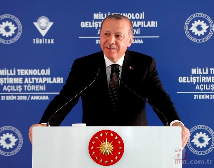 Başkan Erdoğan Milli Teknoloji Geliştirme Altyapıları Açılış Töreni'ne katıldı