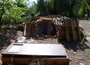 1500 TL'ye öyle bir ev yaptı ki! Kendi inşa etti görenleri şaşırttı