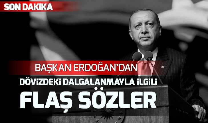 Başkan Erdoğan: Bizde kriz falan yok, bunların hepsi manipülasyondur!