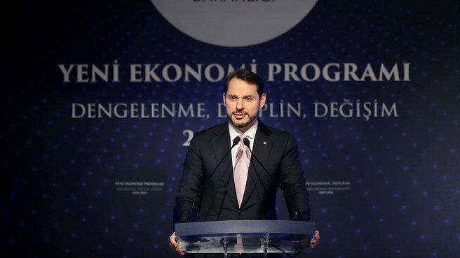 Bakan Berat Albayrak Yeni Ekonomi Programı'nı açıkladı