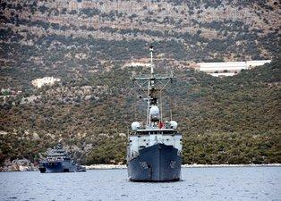 Son dakika: Türk savaş gemileri Akdeniz'de bekliyor!