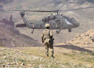 'Kıran' operasyonundan yeni görüntüler! Orgeneral Arif Çetin de operasyon bölgesinde