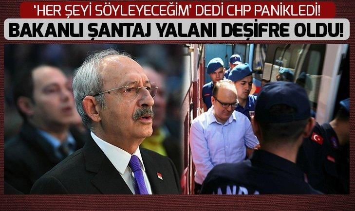 CHP'nin 'bakanlı şantaj yalanı' deşifre oldu!