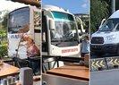 CHP'li belediyeler Kaftancıoğlu için otobüs kaldırdı | Video