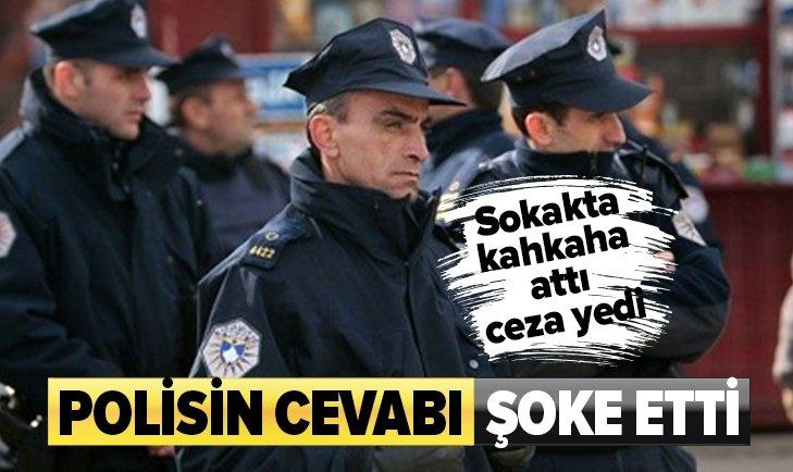 KOSOVA'DA KAHKAHA ATTI POLİS CEZA KESTİ