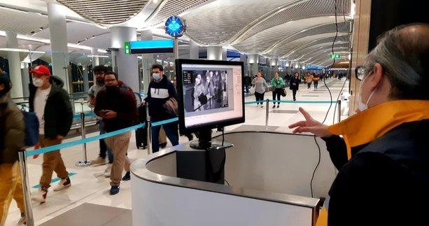 İstanbul'da koronavirüs alarmı! Çin'den gelenler tek tek kontrol ediliyor