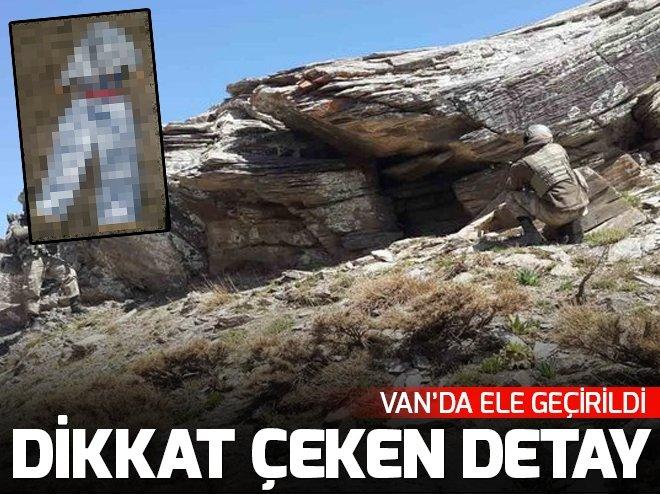 Van'da PKK'lıların özel kıyafetleri bulundu!