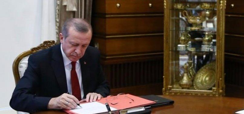 CUMHURBAŞKANI ATAMA KARARLARI: DIŞİŞLERİ VE TMSF'YE...