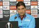 Trabzonspor Teknik Direktörü Ünal Karaman: Ne olursa olsun teslim olmayacağız