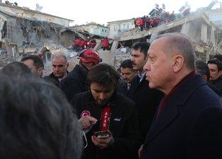 Başkan Erdoğan deprem bölgesinden vatandaşları uyardı