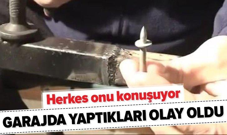 GARAJDA YAPTIKLARIYLA HERKESİ ŞAŞKINA ÇEVİRDİ