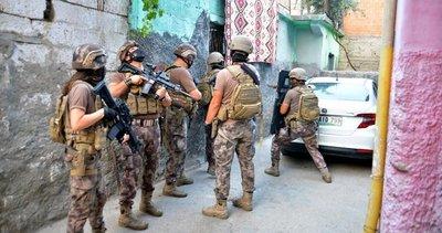 Adana'da çıkar amaçlı suç örgütüne operasyon: Çok sayıda gözaltı