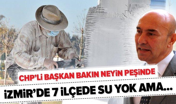 CHP'Lİ BAŞKAN TUNÇ SOYER BAKIN NEYİN PEŞİNDE!