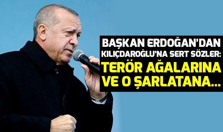 Erdoğan: Pensilvanya'daki şarlatana, Kandil'deki terör ağalarına...