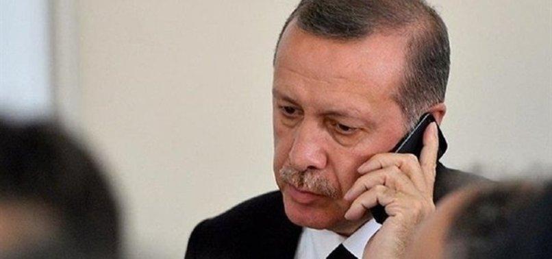 BAŞKAN'DAN ŞEHİT AİLELERİNE BAŞSAĞLIĞI TELEFONU