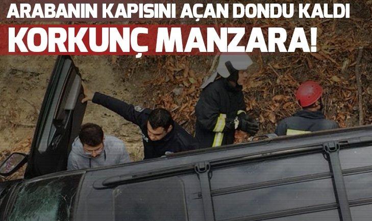 CİPİN İÇİNDE KORKUNÇ MANZARA!