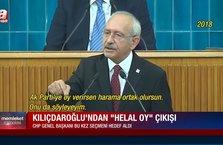 Memleket Meselesi   Kılıçdaroğlu'ndan 'helal oy' çıkışı