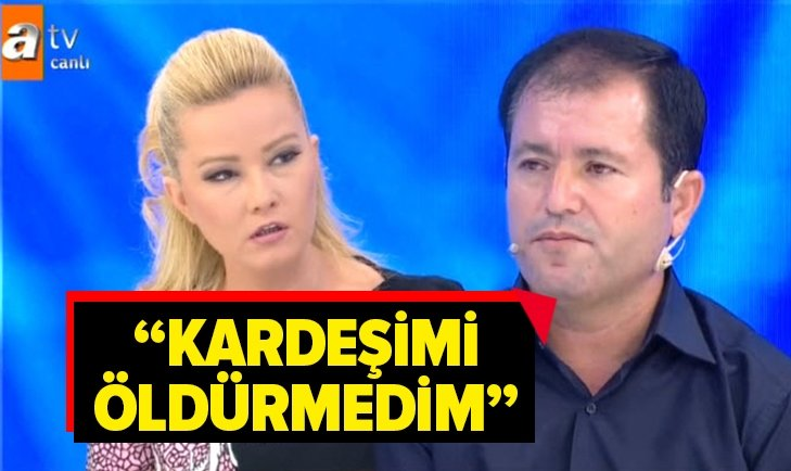 BURHAN AYKURT'UN ÖLDÜRÜLDÜĞÜNDEN ŞÜPHELENDİ!