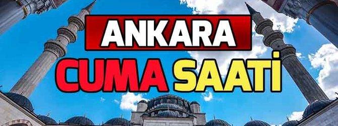 Ankara Cuma namazı saat kaçta?