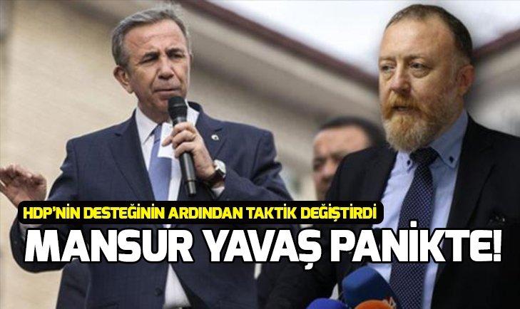 HDP'NİN EŞ BAŞKANI TEMELLİ'NİN KİRLİ İTTİFAKI AÇIK EDEN SÖZLERİNİN ARDINDAN MANSUR YAVAŞ TAKTİK DEĞİŞTİRDİ