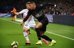 PSG zorlansa da Angers'i devirmeyi başardı
