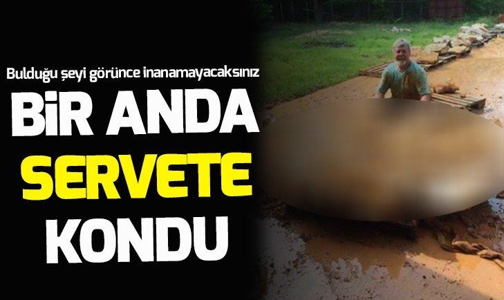 BİR ANDA SERVETE KONDU!