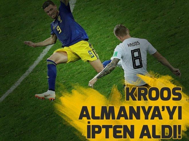 Almanya - İsveç maç sonucu! Rusya'da Kroos farkı