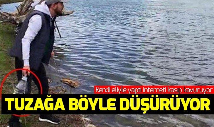 KENDİ ELLERİYLE YAPTI İNTERNETİ KASIP KAVURUYOR!