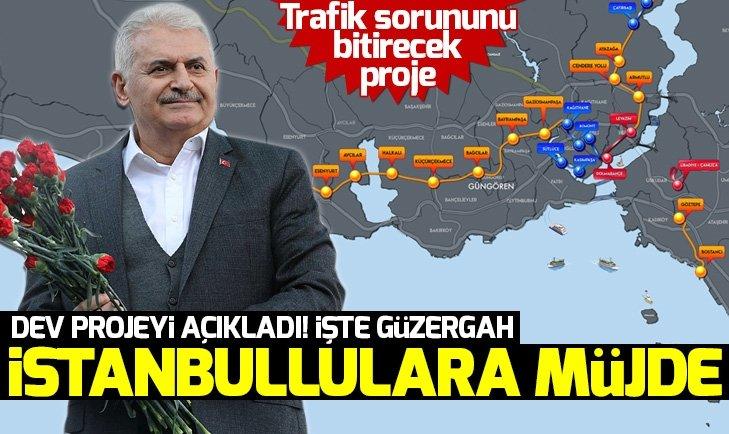 İŞTE YILDIRIM'IN D-100 VE TEM'E ALTERNATİF TÜNEL AĞI PROJESİ