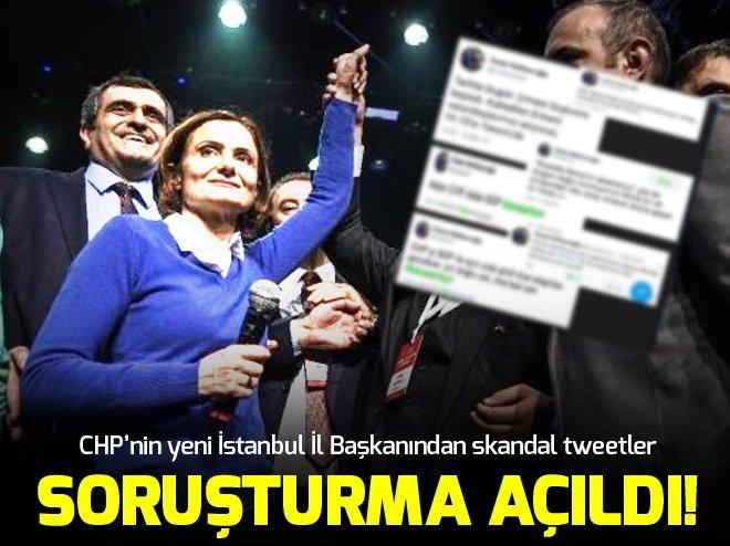 CHP İL BAŞKANI KAFTANCIOĞLU'NA SORUŞTURMA