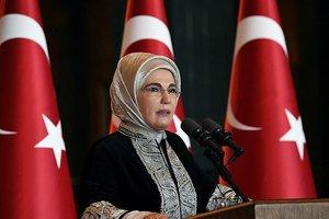 Emine Erdoğan'ın Regaip Kandili mesajı