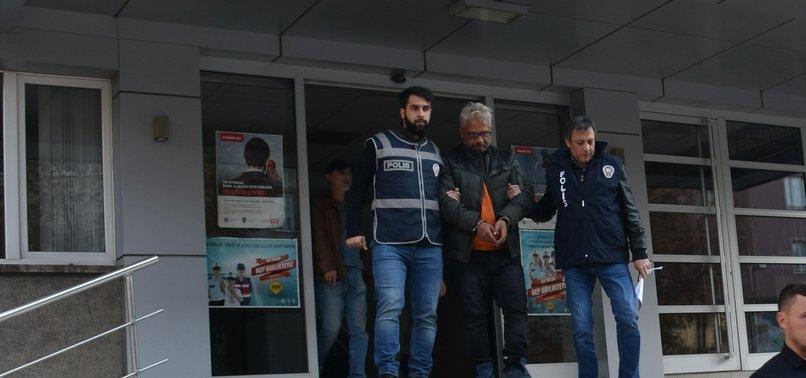 SUÇ MAKİNESİ UŞAK'TA YAKALANDI