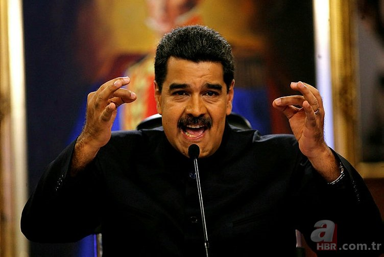 NİCOLAS MADURO'DAN FLAŞ İDDİA