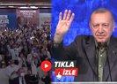 Başkan Erdoğanı Müslüm Gürses şarkısıyla karşıladılar
