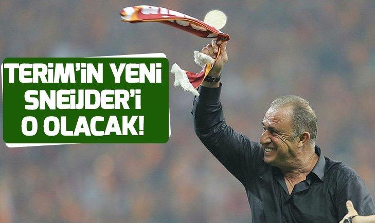 FATİH TERİM'İN YENİ SNEİJDER'İ O OLACAK!