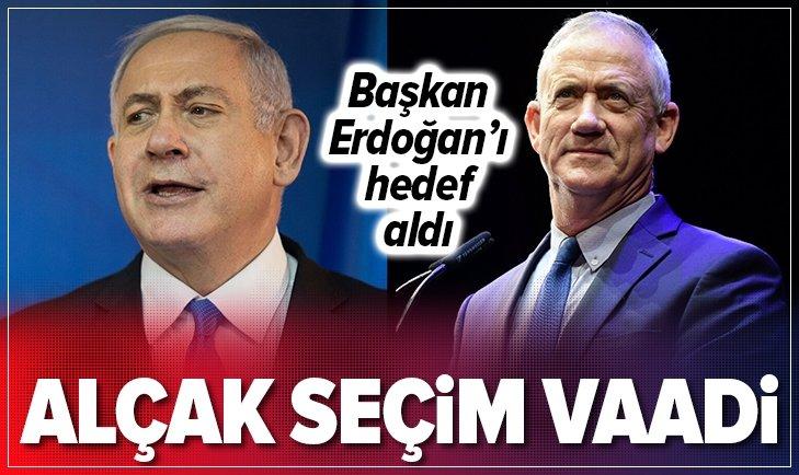 İSRAİL'DE 'ALÇAK' SEÇİM VAADİ!